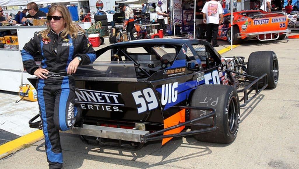 Renee Dupuis NASCAR Whelen Southern Modified Tri County Motor Speedway